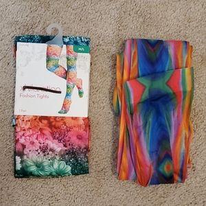 Bundle of Xhilaration tights size M/L